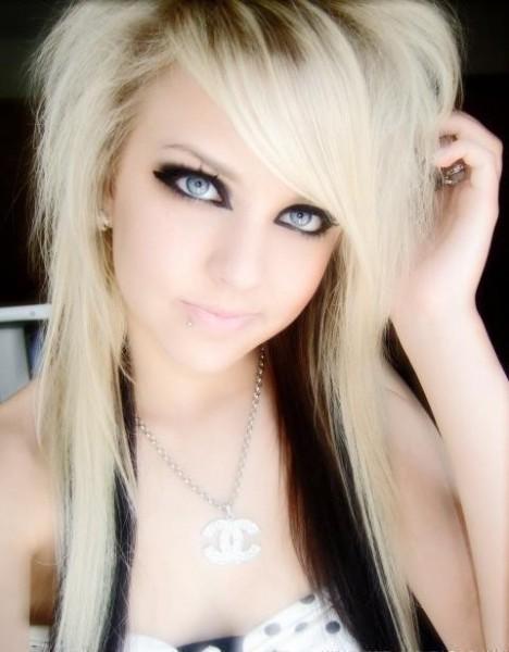 Обычные девушки блондинки эмо — img 5